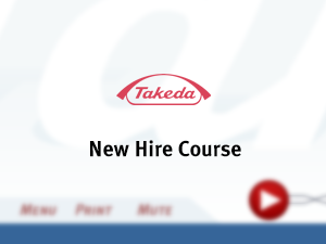 Takeda New Hire Course (2005)